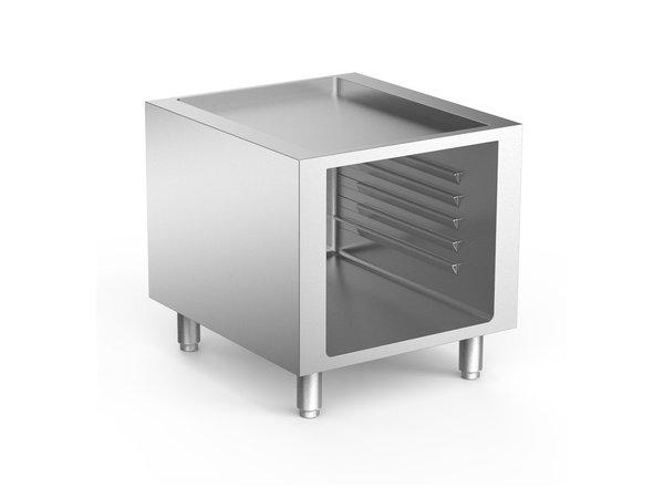 XXLselect 700 HP Open Onderkast Met Geleiders   600x665x(H)620mm