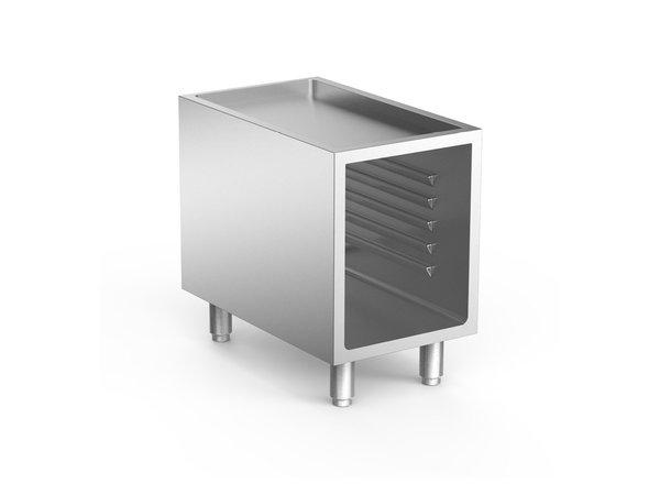XXLselect 700 HP Open Onderkast Met Geleiders | Voor Inductie Apparatuur | 400x665x(H)620mm