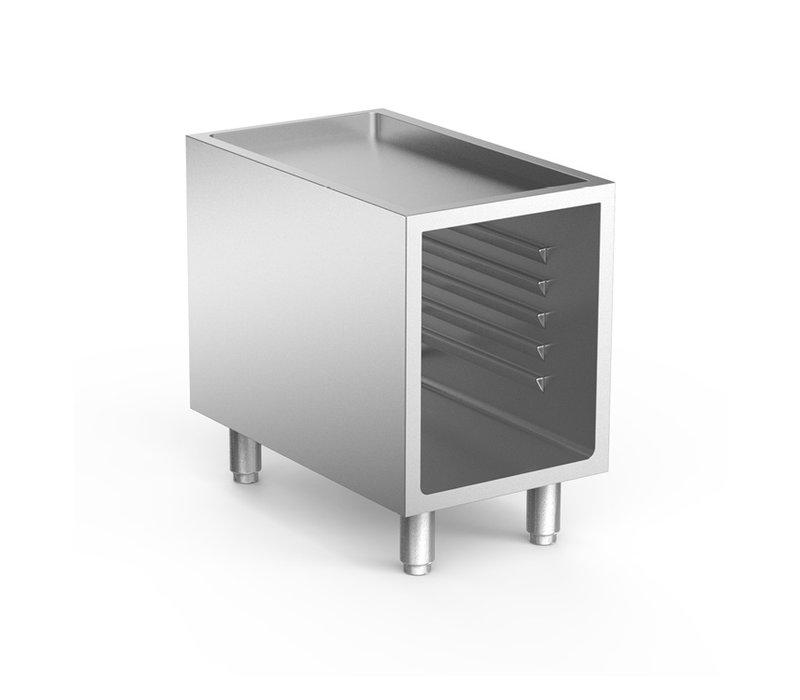 XXLselect 700 HP Open Onderkast Met Geleiders | 400x665x(H)620mm