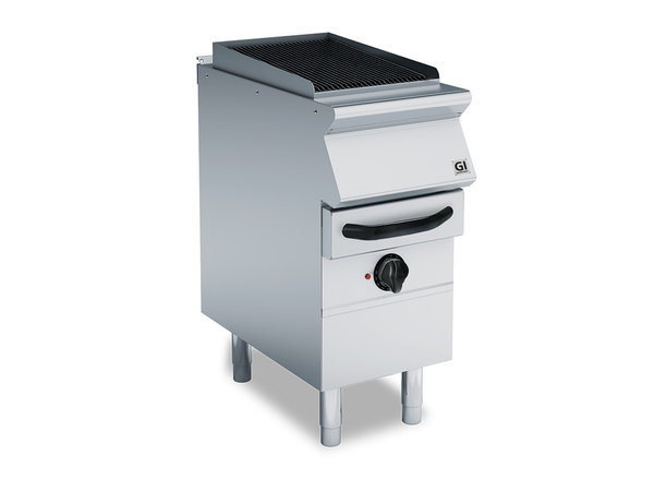 XXLselect 700 HP Waterbad Gasgrill Met 2 Gietijeren Roosters | 7,5 kW | 400x730x(H)870mm