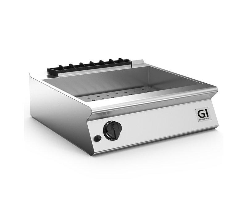 XXLselect 700 HP Gas Bain-Marie + Tapkraan | GN2/1 150mm Diep | 3 kW | 800x730x(H)250mm