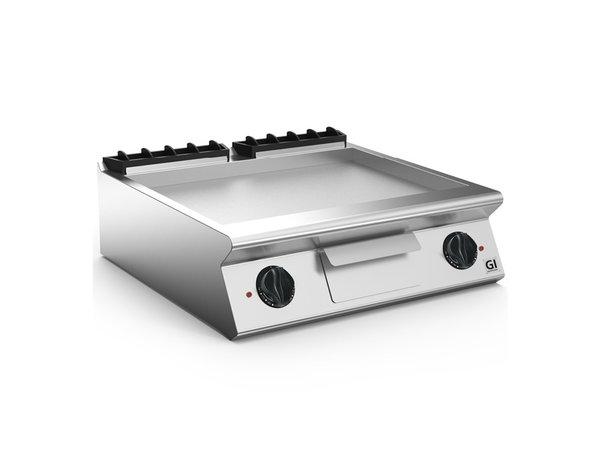 XXLselect 700 HP Elektrische Bakplaat Gladde RVS Plaat | 10,8 kW / 230V-3N | 800x730x(H)250mm