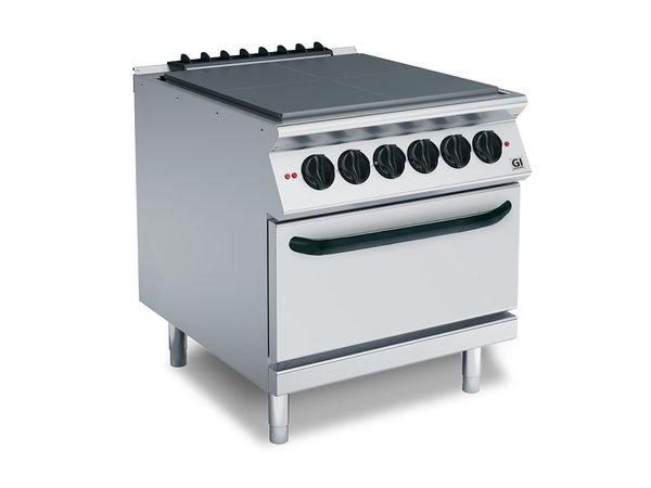 XXLselect 700 HP Kookplaat 4 Verhittingszones | Elektrische Oven | 16 kW | 800x730x(H)870mm