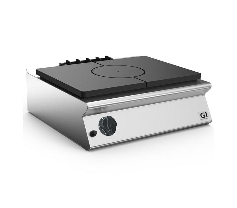 XXLselect 700 HP Gloeiplaat Voor Gastoestel Tafelmodel | 9 kW | 800x730x(H)250mm