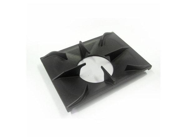 XXLselect 700 HP Gietijzeren Panrooster Voor 1 Brander | 350x350x(H)16mm