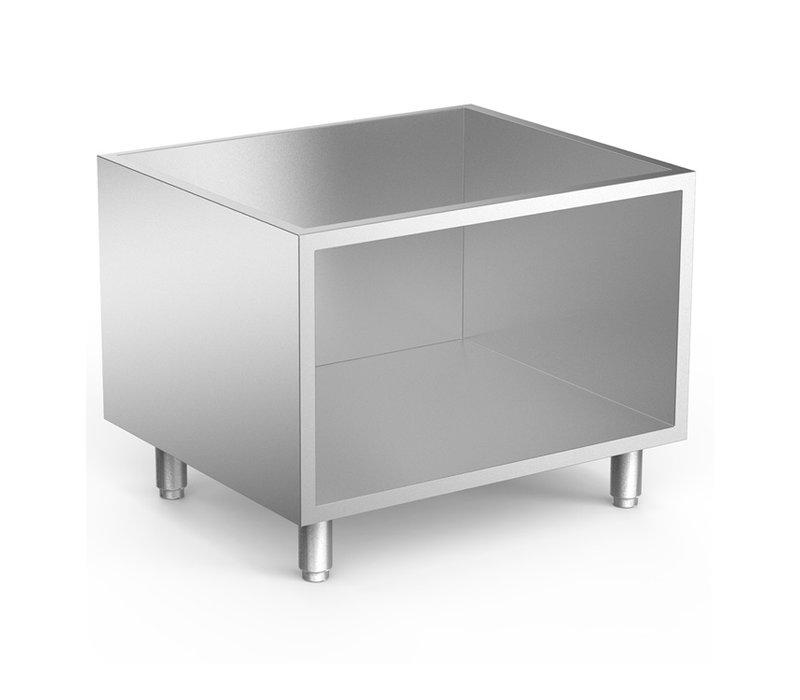 XXLselect 650 HP Onderkast Roestvrijstaal | 800x535x(H)600mm