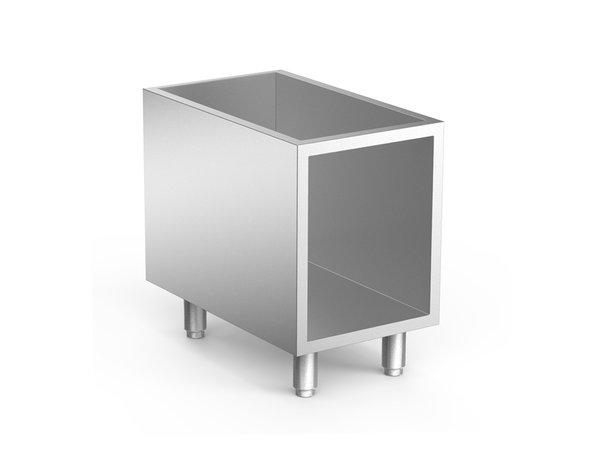 XXLselect 650 HP Onderkast Roestvrijstaal | 400x535x(H)600mm