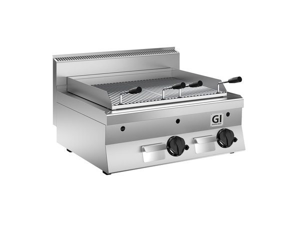 XXLselect 650 HP Lavasteen Grill | 14 kW | 800x650x(H)295mm