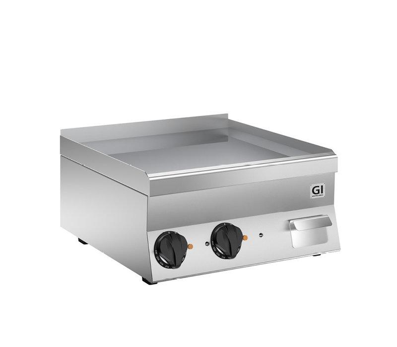 XXLselect 650 HP Elektrische Bakplaat | Gladde Verchroomde Plaat | 400V 7,8 kW | 600x600x(H)295mm