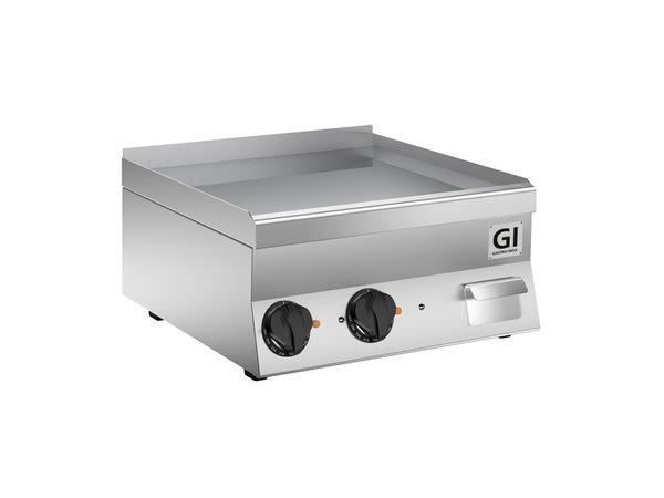 XXLselect 650 HP Elektrische Bakplaat | Gladde RVS Plaat | 400V 7,8 kW | 600x600x(H)295mm