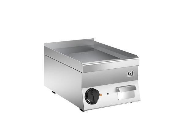 XXLselect 650 HP Elektrische Bakplaat | Gladde Verchroomde Plaat | 400v 3,6 kW | 400x600x(H)295mm