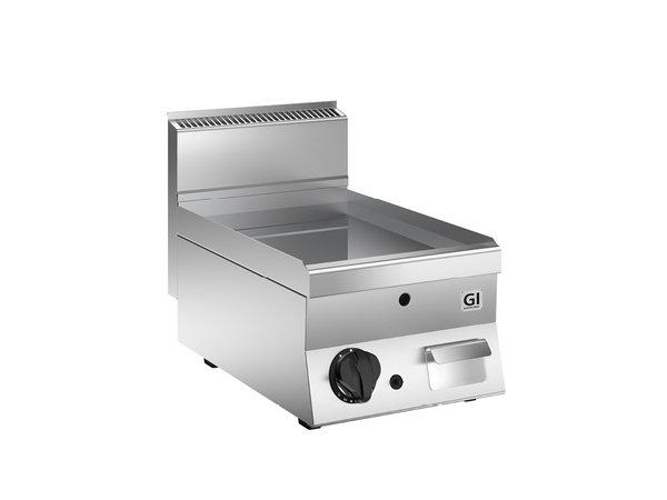 XXLselect 650 HP Gasbakplaat Glad Geslepen | RVS Plaat | 5 kW | 400x650x(H)295mm