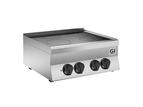 XXLselect 650 HP Keramische Kookplaat | 2 Kookzones 10 kW | 700x650x(H)295mm