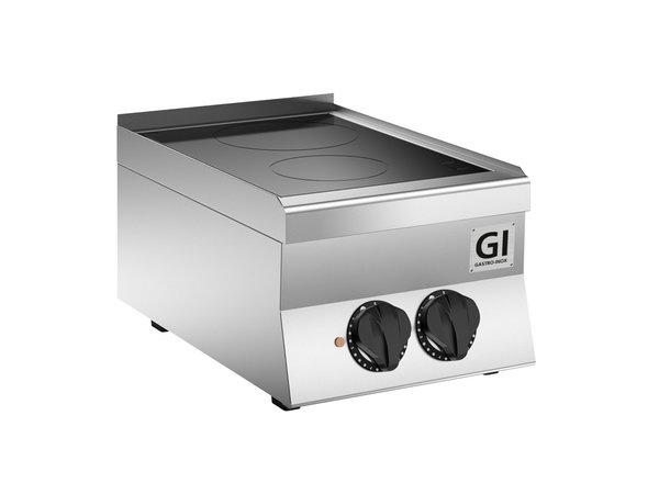 XXLselect 650 HP Keramische Kookplaat | 2 Kookzones 5 kW | 400x650x(H)295mm