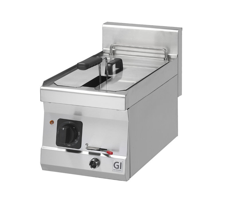 XXLselect 600 Trendline Elektrische Friteuse | 10 Liter | 9 kW | 300x600x(H)455mm