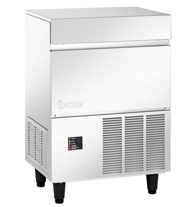 Bartscher Scherf Ice machine - 120 kg / 24 h - Stock 27kg - 68x51x (h) 100cm