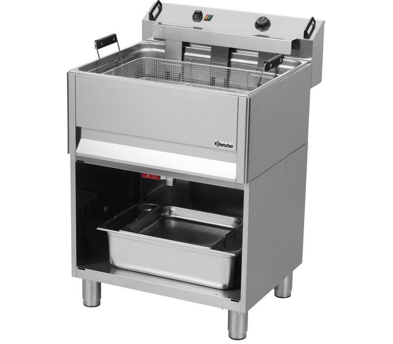 Bartscher Friteuse Elektrisch | Bakkerij | 30L | 400V | 15kW | Open Onderbouw | 615x490x(h)130mm