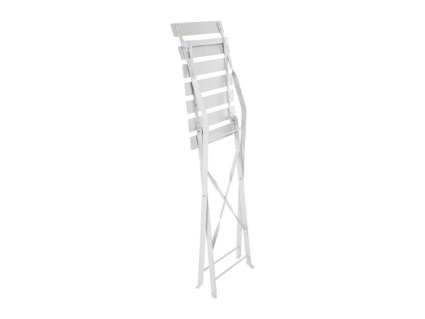Bolero Folding chair Gray Steel | Per 2 pieces