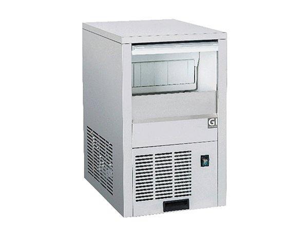 XXLselect Holle IJsblokjesmachine   25kg/24u   6kg Opslag   364x459x(H)605mm