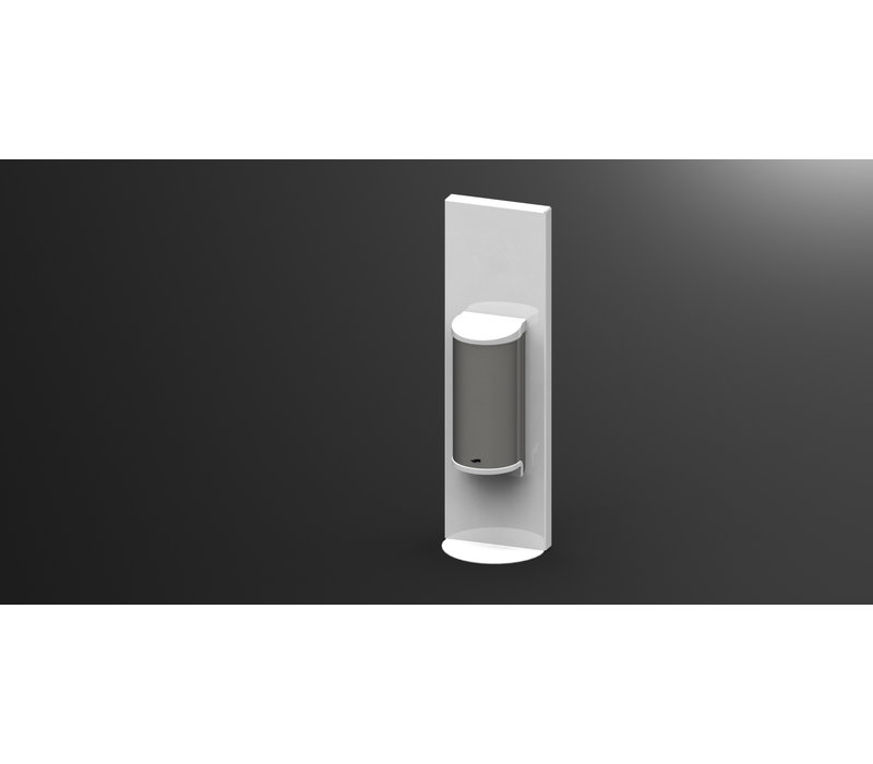 Saro Dispenser For Hand Disinfection White | No Touch | 800ml | 180x110x600mm