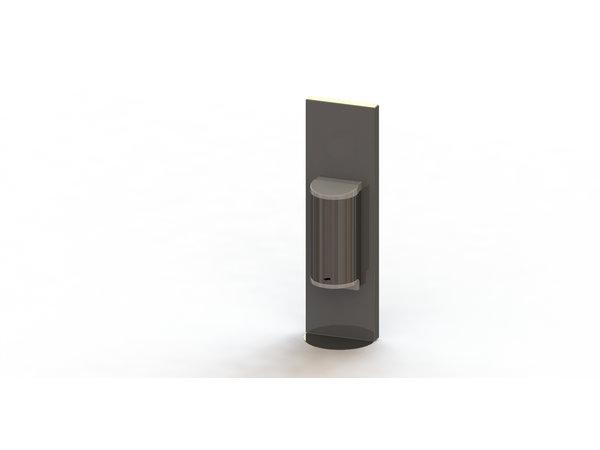 Saro Dispenser Voor Handdesinfectie RVS | No Touch | 800ml | 180x110x600mm