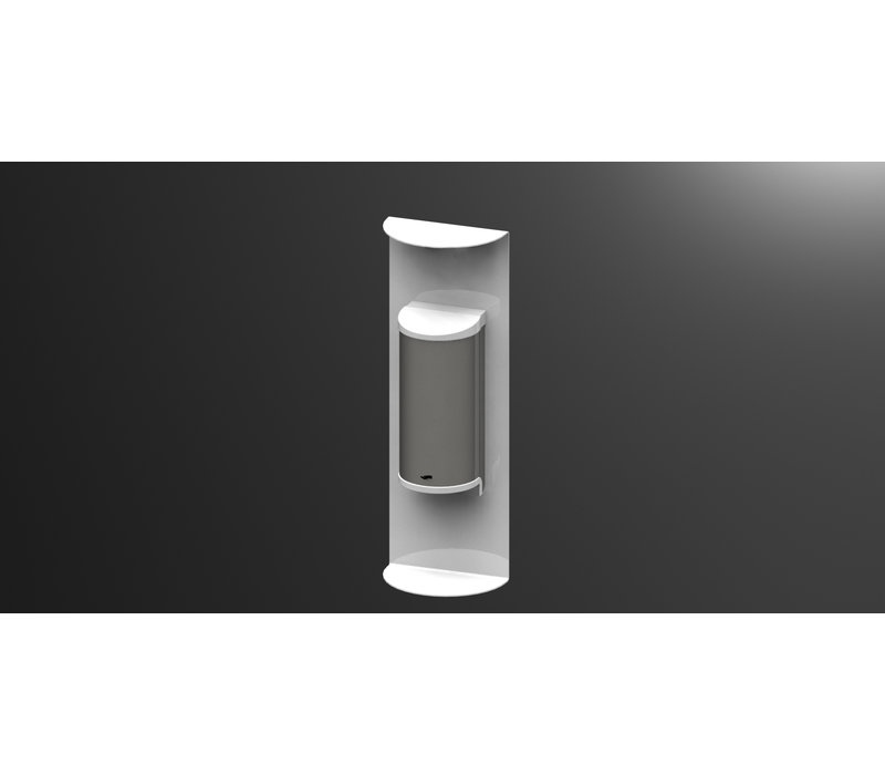 Saro Dispenser For Hand Disinfection White | No Touch | 800ml | 180x110x520mm