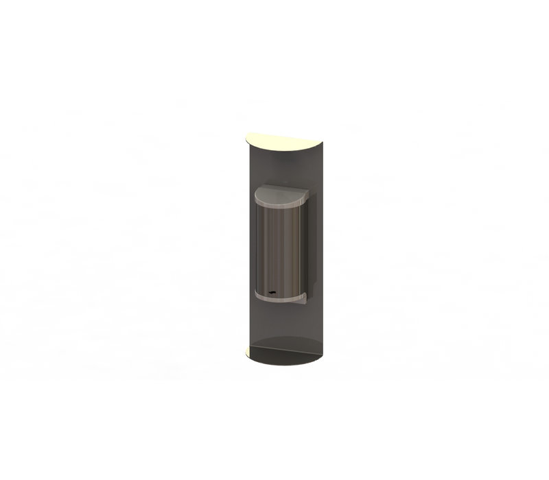 Saro Dispenser For Hand Disinfection Stainless Steel | No Touch | 800ml | 180x110x520mm