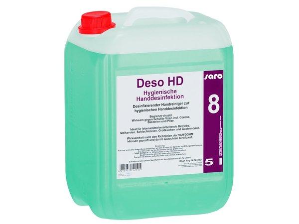 Saro Antibacteriële Handreiniger | 5 Liter Kan