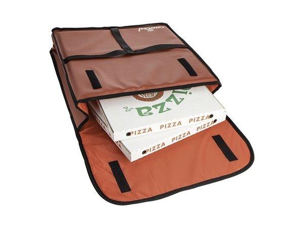 Caterchef Pizza Bezorgtas Rood   Geschikt voor 4 Pizza's