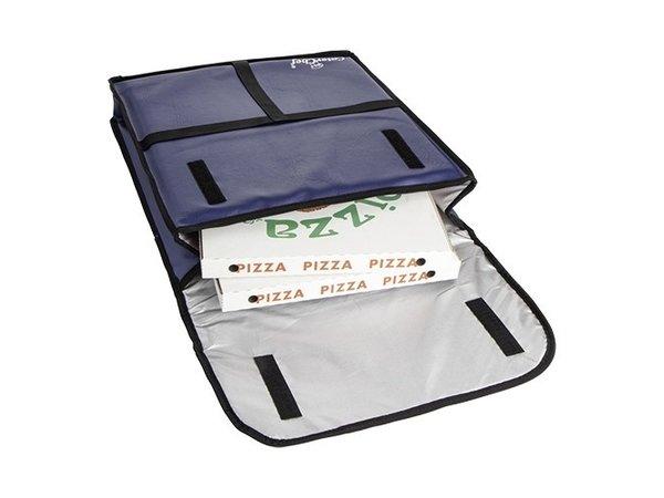 Caterchef Pizza Delivery Bag Blue | Suitable for 5 pizzas