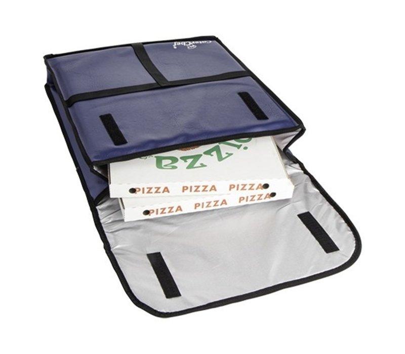 Caterchef Pizza Bezorgtas Blauw | Geschikt voor 5 Pizza's