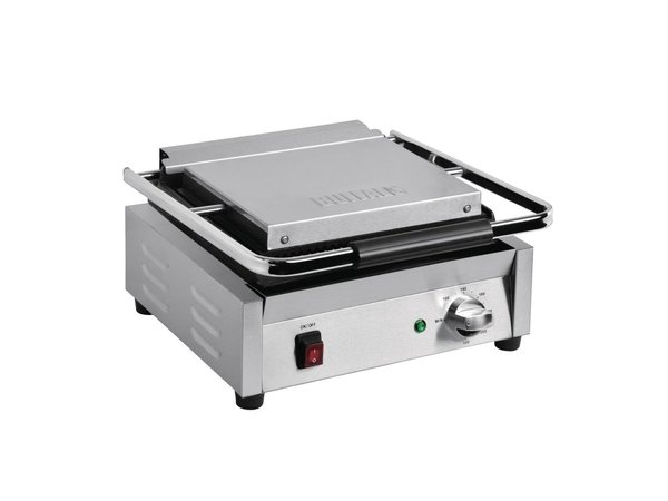 Buffalo Bistro Enkele Contactgrill Glad/Glad Groot | 2200W | 380x395x(H)210mm