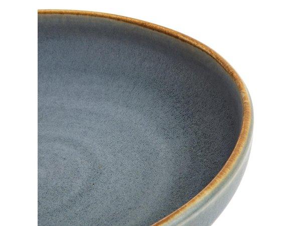 Olympia Canvas Diepe Coupe Borden Blauw Graniet 230m | 6 Stuks