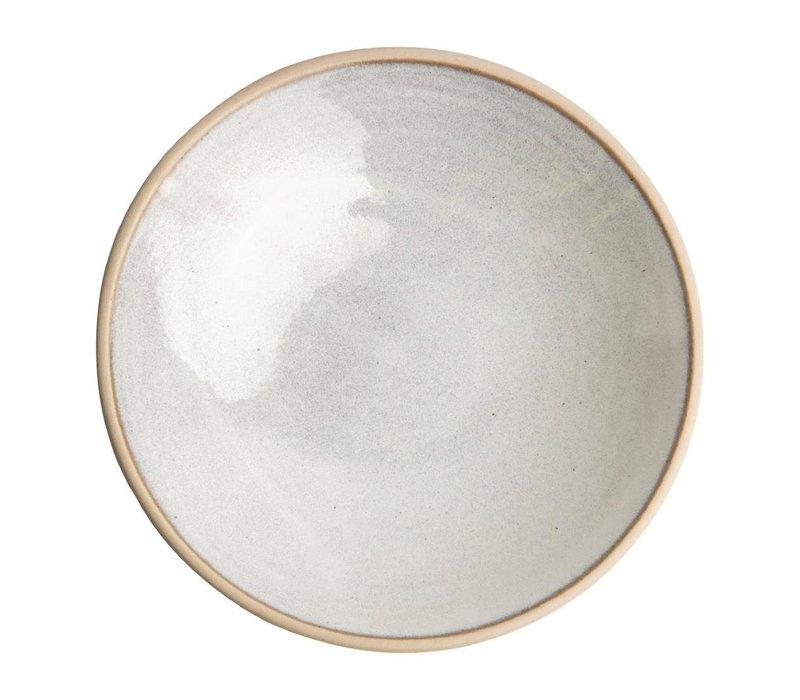 Olympia Canvas Ondiepe Schalen Wit 200mm | 6 Stuks