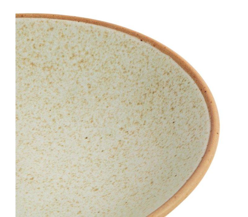 Olympia Canvas Ondiepe Schalen Crème 200mm | 6 Stuks