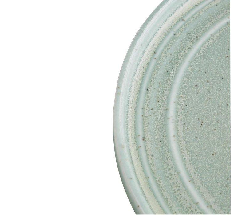 Olympia Cavolo Plat Rond Bord | Zacht Groen | 180mm | 6 Stuks