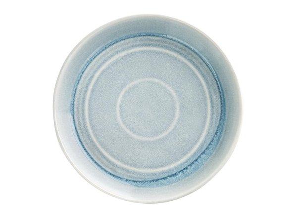 Olympia Cavolo Platte Ronde Schaal   IJsblauw   Ø220mm   4 Stuks