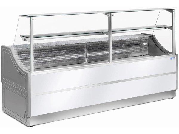 Diamond OUTLET Toonbank Gekoeld   Granieten werkblad   Temperatuur +4° / +6°   1000x750x(H)1350mm