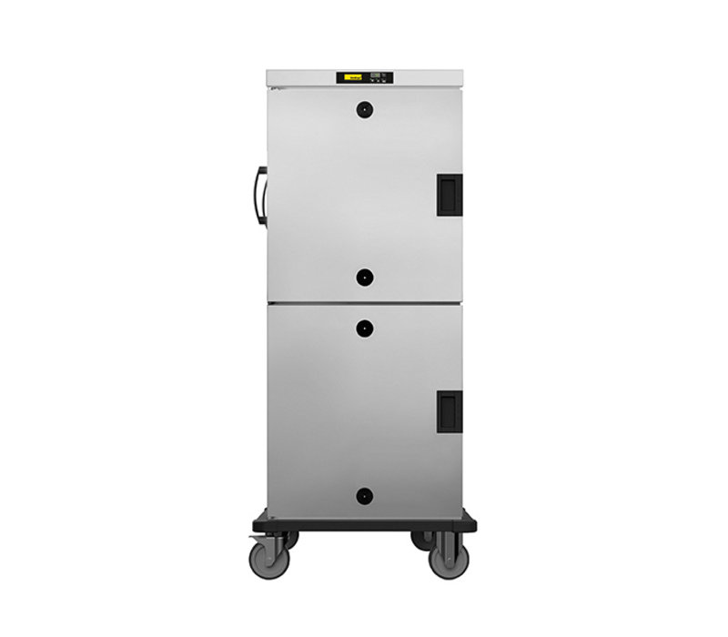 NordCap Warming cabinet 2 Doors HHT 162 E | Mobile 32x 1/1 GN | 765x845x (H) 1760mm