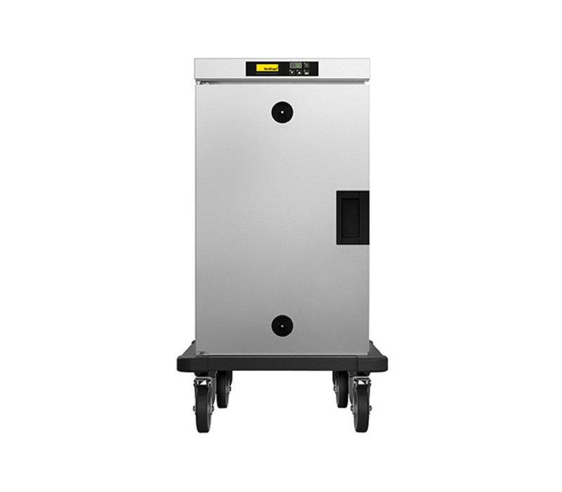 NordCap Warming cabinet HHT 081 E | Mobile 8x GN 1/1 | 550x735x (H) 1010mm