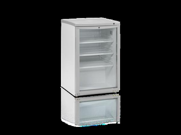 Tefcold Bar fridge White | Glass Door | 92 Liter | Led Lighting | 503x567x (H) 775mm
