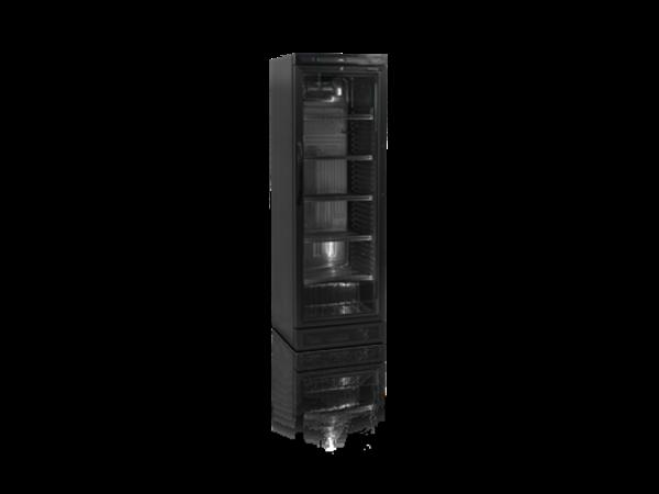 Tefcold Bottle fridge Black   372 Liter   595x640x (H) 1840mm