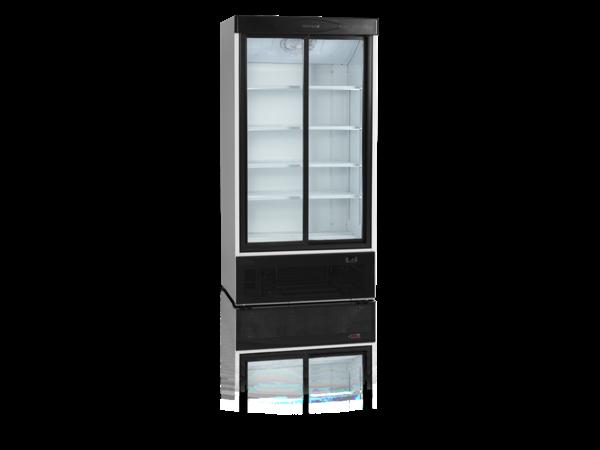 Tefcold Display Fridge | 2 Glass Doors | 730 Liter | 1000x735x (H) 1990mm