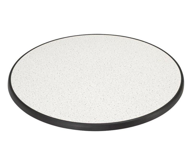 XXLselect Round Tabletop | Granite | Ø850mm