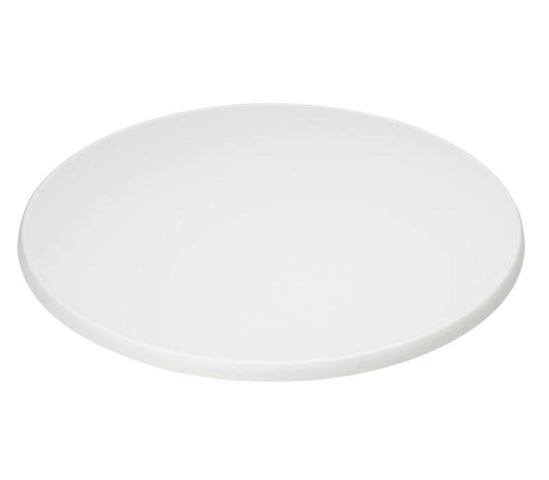 XXLselect Round Tabletop | White | Ø700mm
