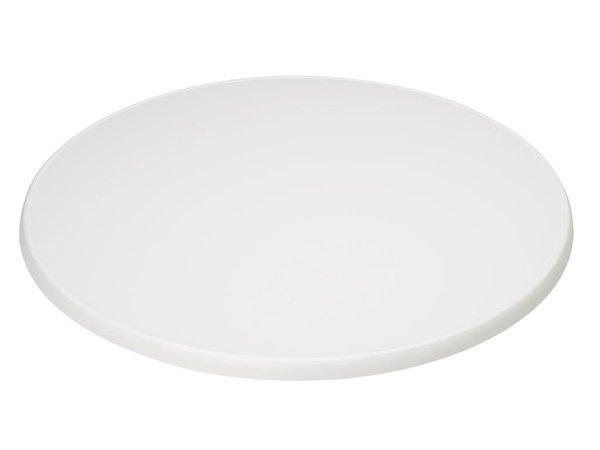 XXLselect Round Tabletop   White   Ø850mm
