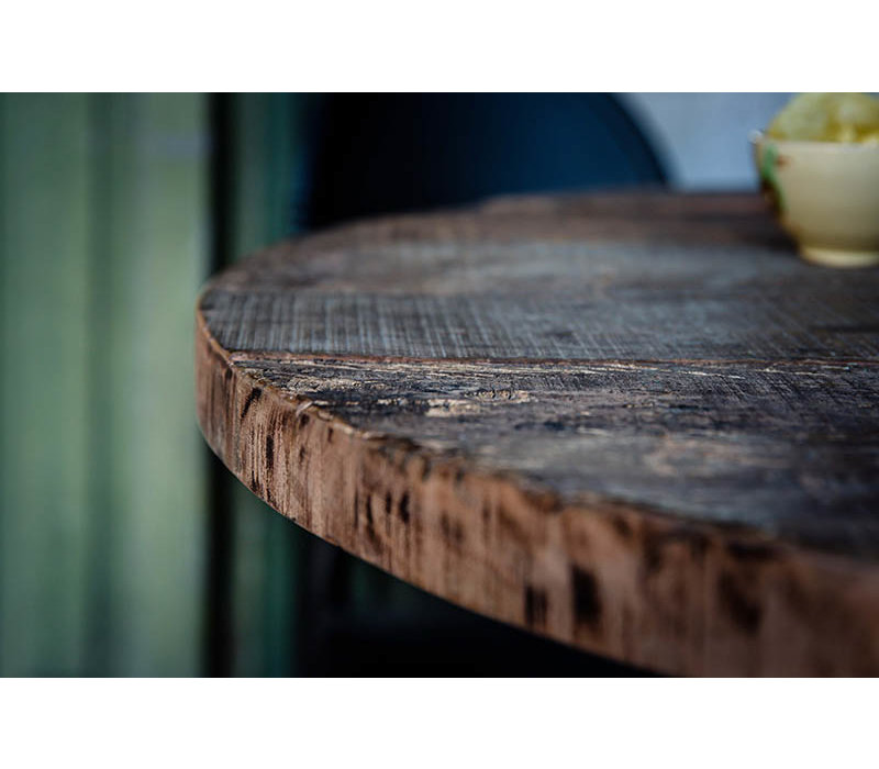 XXLselect Rond Tafelblad | Barnwood | Ø800mm