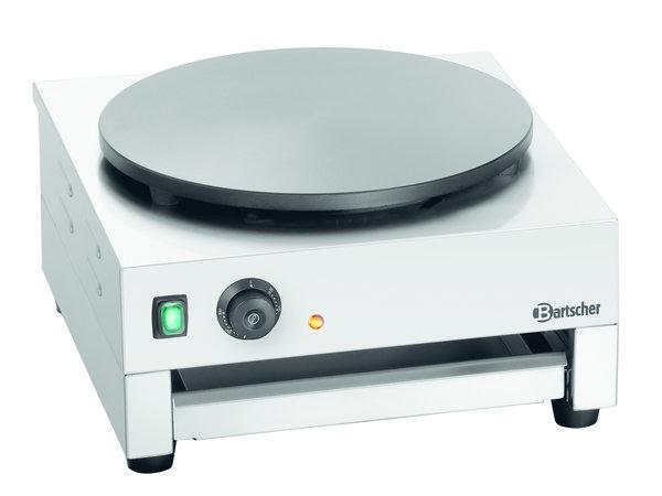 Bartscher Crepe Bakplaat | Ø400mm Plaat | 3 kW | 450x510x(H)245mm