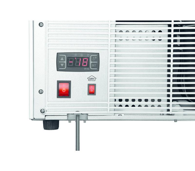 Bartscher Freezer Tabletop | 90 Liter | 3 Fixed Schedules | 620x600x (H) 720mm