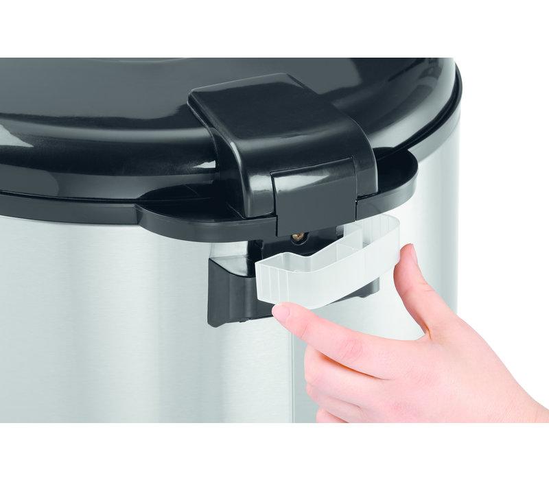 Bartscher Rijstkoker 6 Liter | Met Siliconen Mat | 440x390x(H)345mm